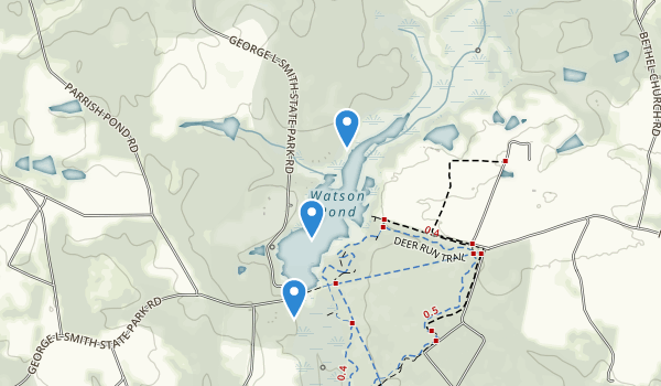 George L. Smith State Park Map