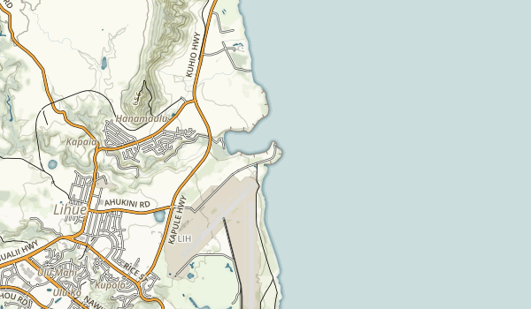 Ahukini State Recreational Pier Map