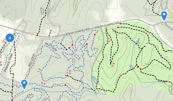 Hard Labor Creek State Park Map