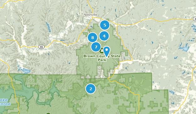Beste Wege in Brown County State Park - Indiana | AllTrails