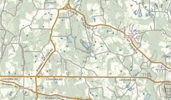 John Tanner State Park Map