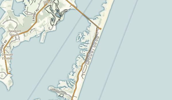 Assateague State Park Map