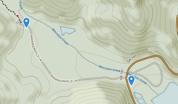 Moccasin Creek State Park Map