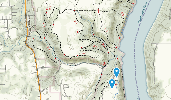 Afton State Park Map