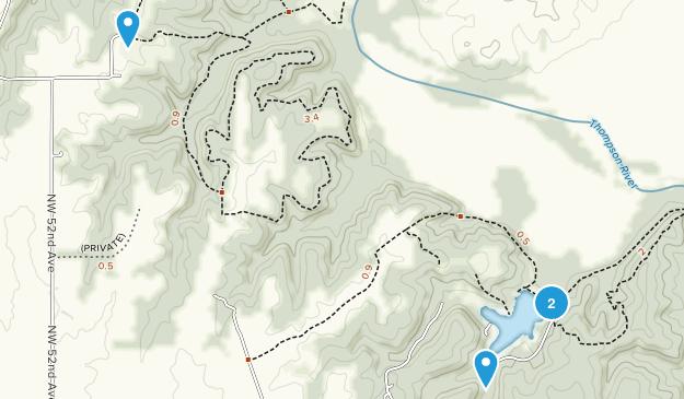 Crowder State Park Map