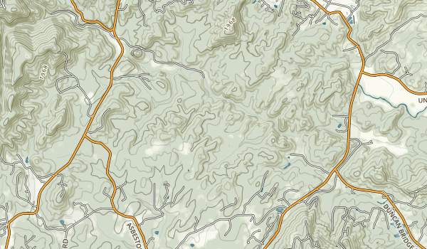 Smithgall Woods Conservation Park Map