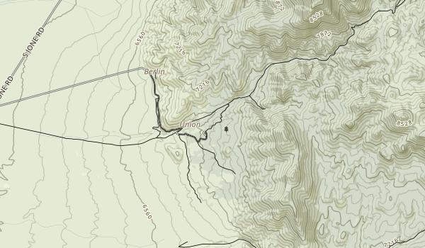 Berlin-Ichthyosaur State Park Map