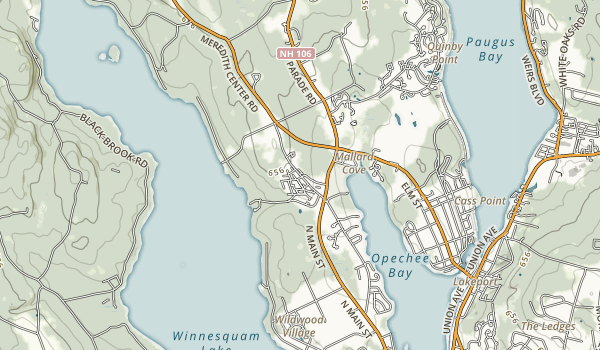 Ahern State Park Map
