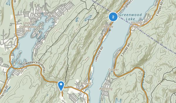 Abram S. Hewitt State Forest Map