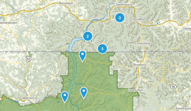 Allegany State Park Map