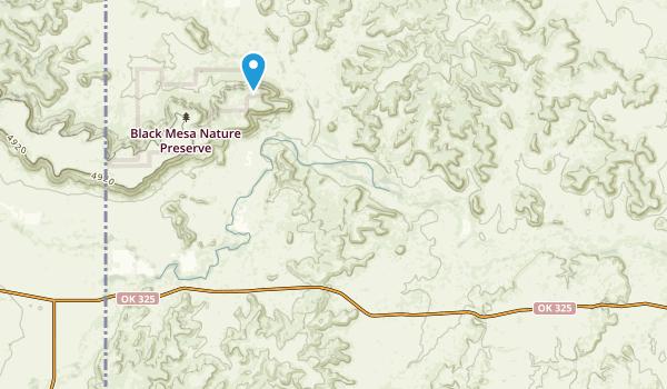 Black Mesa State Park & Nature Preserve Map