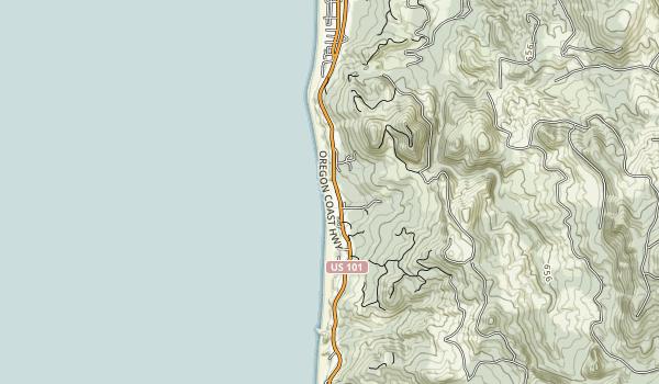 Arcadia Beach State Recreation Site Map