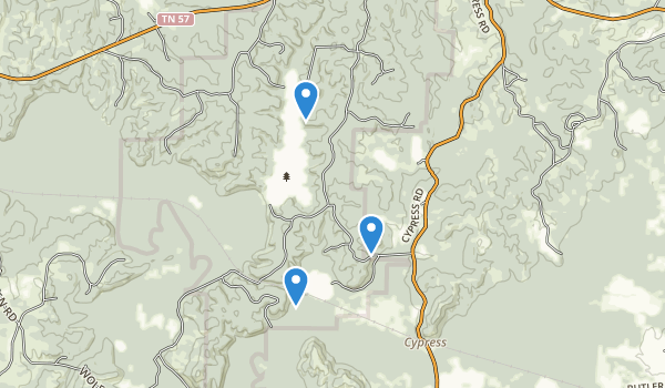 Big Hill Pond State Park Map