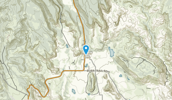 Anasazi State Park Museum Map