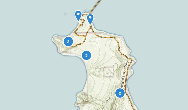 Antelope Island State Park Map