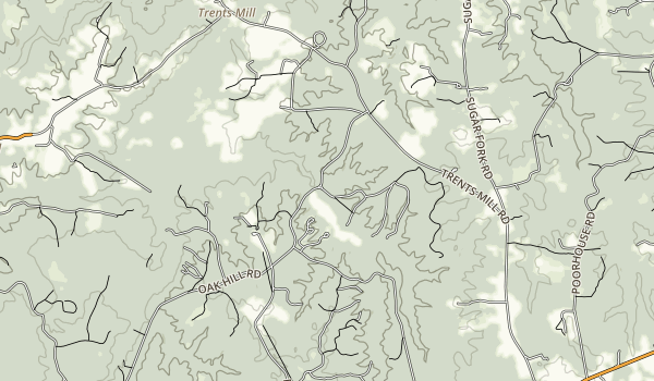 Bear Creek Lake Map