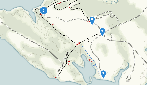 Belle Isle State Park Map