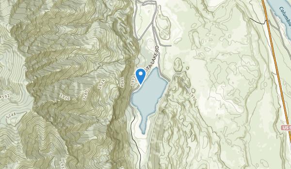 Alta Lake State Park Map