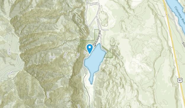 Parque Estatal Alta Lake Map