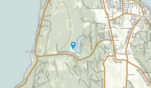 Anderson Lake State Park Map