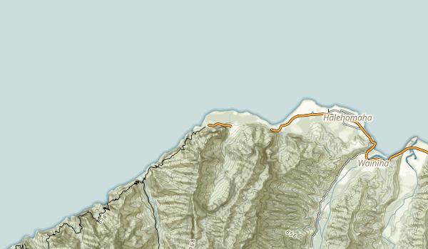 Haena State Park Map