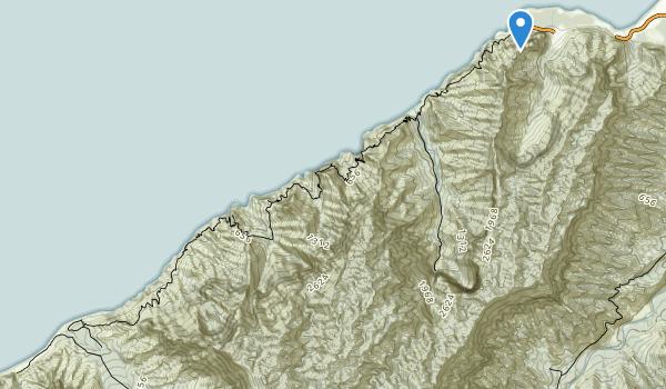Na Pali Coast State Wilderness Park Map