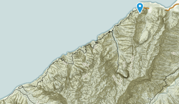 Na Pali Coast State Wilderness Park Map