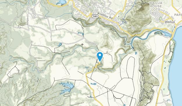 Wailua River State Park Map
