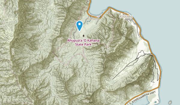 Ahupua'a O Kahana State Park Map
