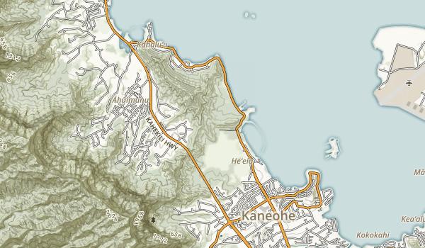 He'eia State Park Map