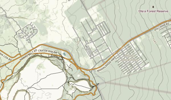 Ka Iwi State Scenic Shoreline Map