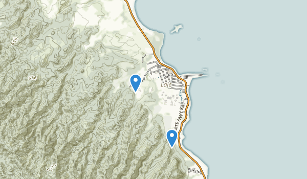 Malaekahana State Recreation Area Map