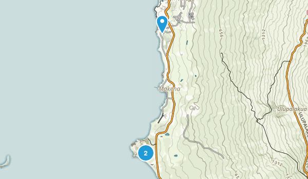 Makena State Park Map