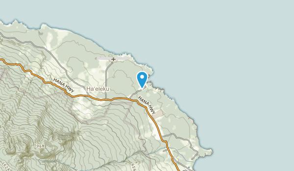 Waianapanapa State Park Map