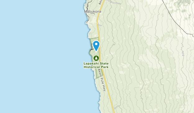 Lapakahi State Historical Park Map