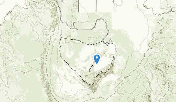 trail locations for Bruneau Dunes State Park