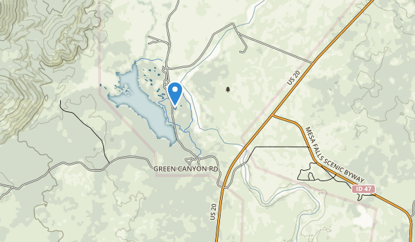 trail locations for Harriman State Park