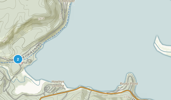 Heyburn State Park Map