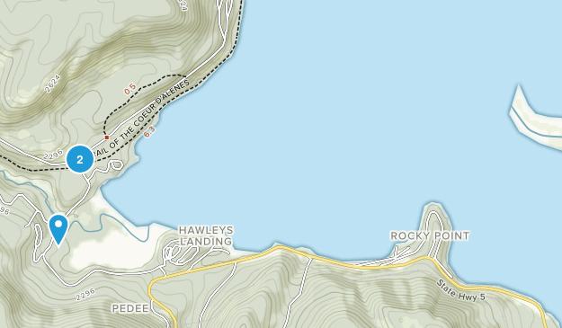 Heyburn State Park Map
