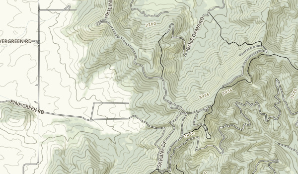 McCroskey State Park Map