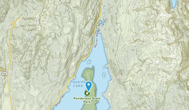 Ponderosa State Park Map
