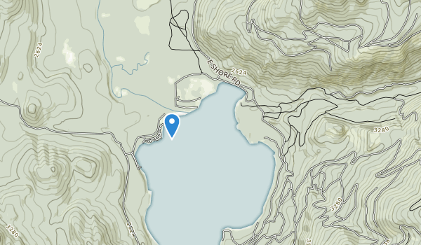 trail locations for Priest Lake State Park