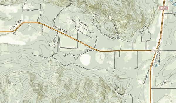 Round Lake State Park Map