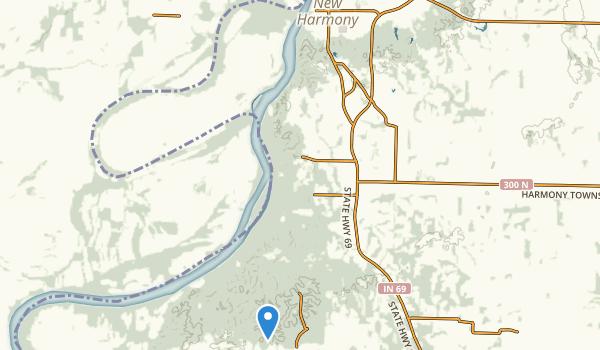 trail locations for Harmonie