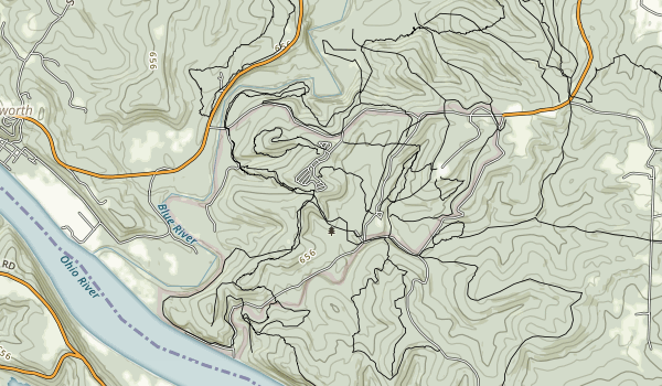 O'Bannon Woods Map