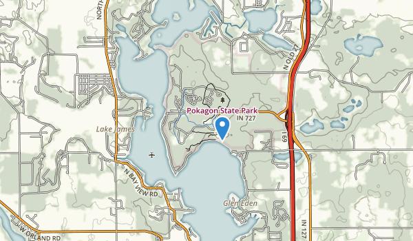 trail locations for Pokagon