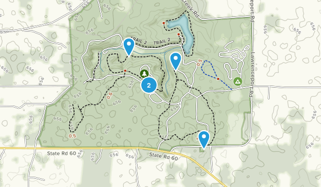 Spring Mill State Park Map