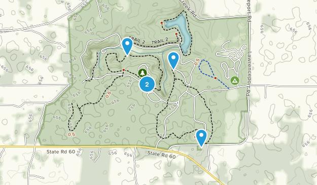 Frühlingsmühle State Park Map