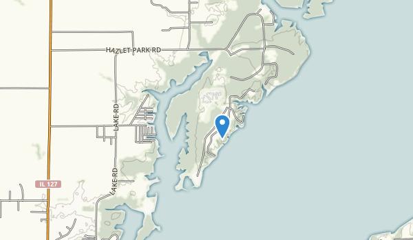 Eldon Hazlet Map