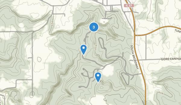 Ferne Clyffe Map